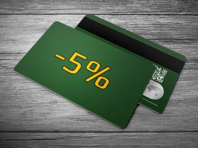 Дисконтные карты с фиксированной скидкой
